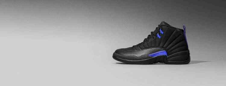Air Jordan 12 'Dark Concord' Hero Picture Desktop